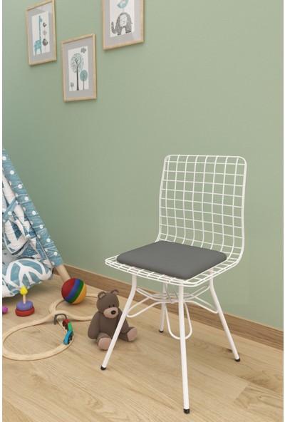 Evdemo Çocuk Tel Sandalyesi Gri