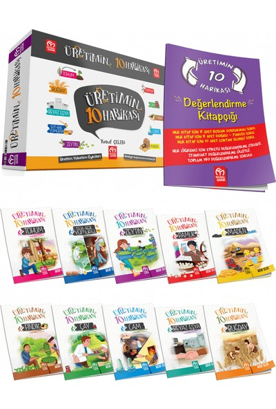 Model Çocuk Yayınları Üretimin 10 Harikası + Değerlendirme Kitapçığı