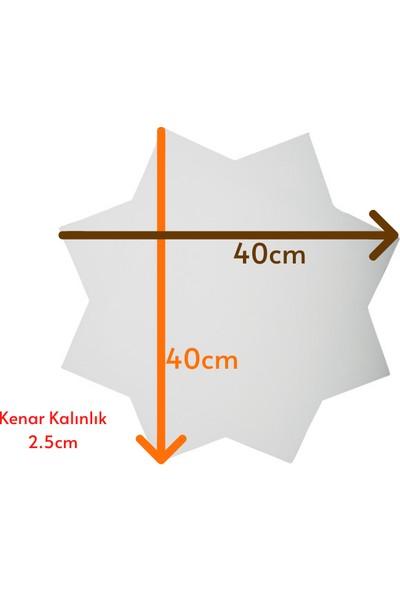 Özcan Gencer Art Tam Profesyonel Yıldız Tuval 40X40 cm