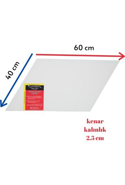 Özcan Gencer Art Tam Profesyonel Paralelkenar Tuval 40X60 cm