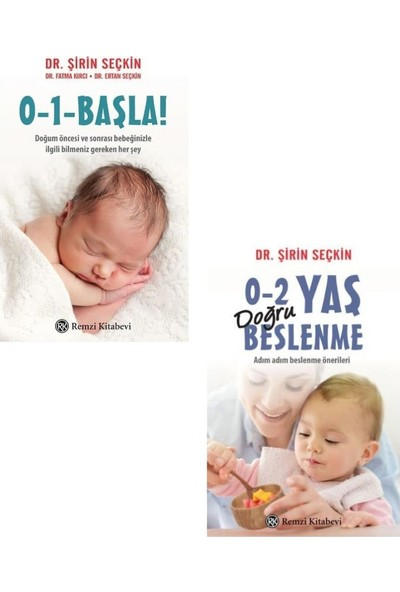 Dr. Şirin Seçkin Seti 0 1 Başla + 0 2 Yaş Doğru Beslenme - Şirin Seçkin