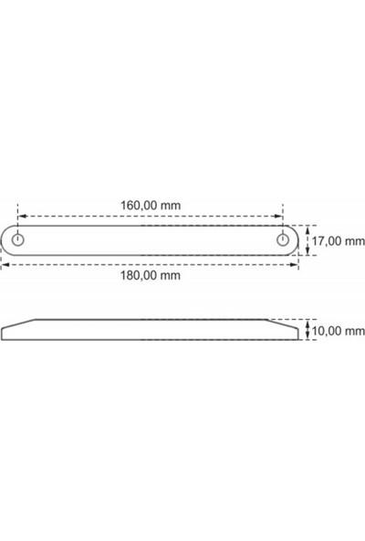 Ledshop Dekoratif LED Beyaz 12 12-24 Volt 1 Adet