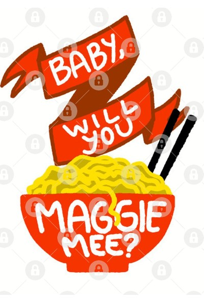 Fizello Baby, Will You Maggie Mee? Kupa Bardak