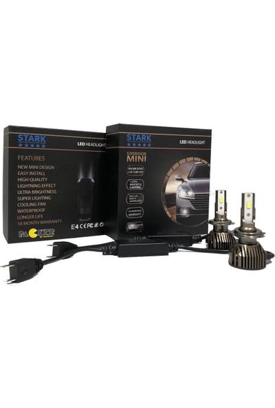 Stark Supervision Mini H7 Csp Canbus LED Xenon 8000LM Şimşek Etkili 6000K Beyaz Renk