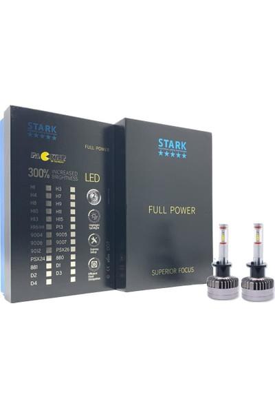 Stark Full Power Csp 360° H1 LED Xenon 12000LM 6000K Beyaz Mercekli Far Özel Seri