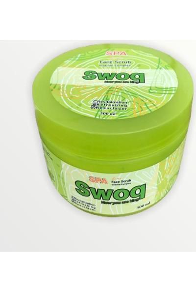 Swoq Yüz Scrup Cilt Temizleyici Limon Aromalı 300 ml