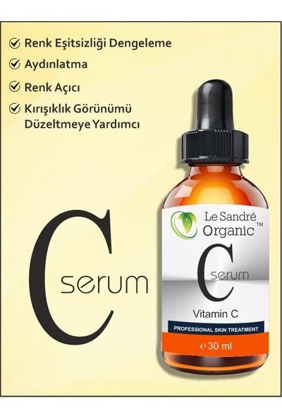 Le Sandre Organics C Vitamini Serum Aydınlatıcı 30 ml