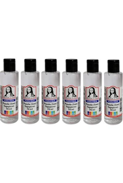 Südor Mona Lisa Puzzle Sıvı Yapıştırıcı 70 ml Nontoxic 6'lı