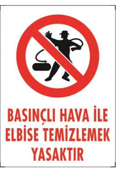 Dafne Basınçlı Hava Ile Kıyafet Temizlemek Yasaktır