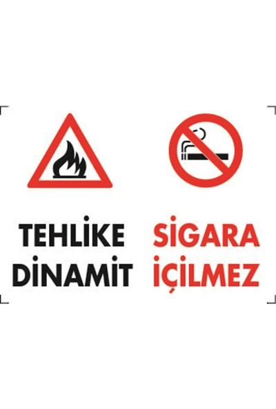Dafne Yangın- Tehlike Dinamit Sigara Içilmez