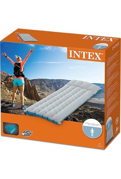 Intex Şişirilebilir Kamp Yatağı Tek Kişilik 67997