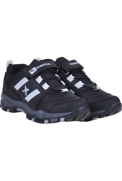 Hammır Cek 1866 Siyah Cırtlı Kışlık Erkek Çocuk Spor Ayakkabı