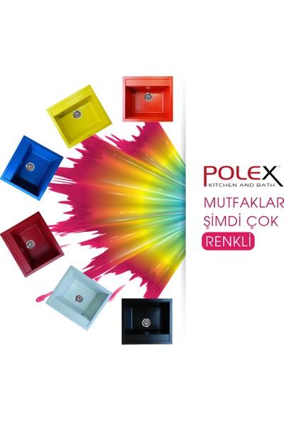 Polex Cristalüx Granit Eviye P04 Antrasit