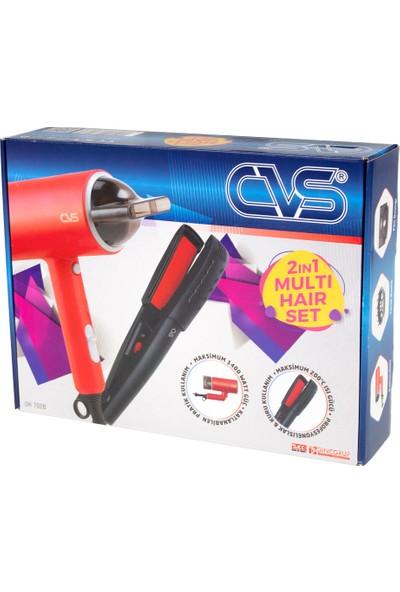 Cvs DN7026 2'si Bir Arada Set Saç Düzleştirici ve Kurutma Makinesi