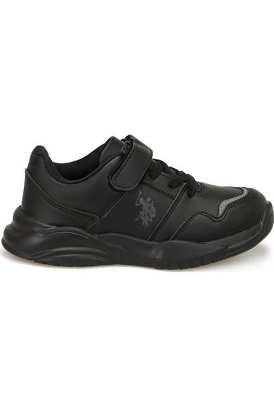 U.S. Polo Assn. Colby Siyah Erkek Çocuk Sneaker Ayakkabı