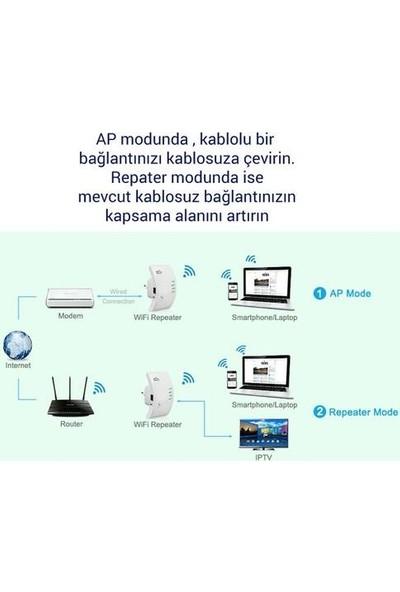 Easy Idea Easyidea 300MBPS Kablosuz Wifi Repeater Router Aktarıcı Antensiz