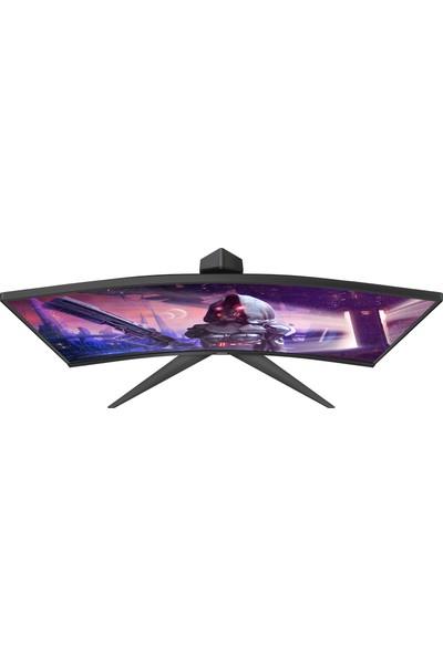"""AOC C27G2U/BK 27"""" 165Hz 1ms (HDMI+Display) FreeSync 2 Full HD Curved LED Monitör"""