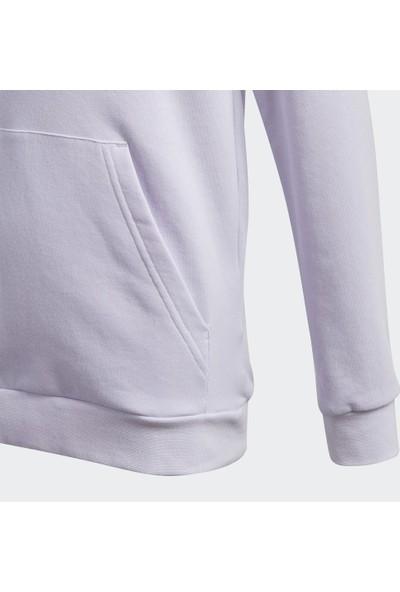 adidas Hoodie Kız Çocuk Kapüşonlu Üst Sweatshirt