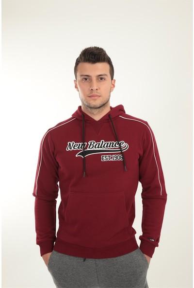 New Balance New Balance Nb Team Hoodie Erkek Spor Kapüşonlu Üst Sweatshirt