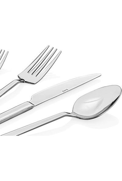 Taç Odion Irena 36 Parça Çatal Kaşık Bıçak Seti Platin