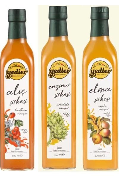 Yedier Elma+Alıç+Enginar 500 ml - 3'lü Paket