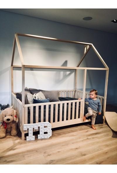 Ürün Şehri Montessori Yatak Doğal Ahşap Çocuk Yatak