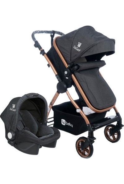 Four Baby Domino Gold Travel Sistem Bebek Arabası ve Taşıma Puseti