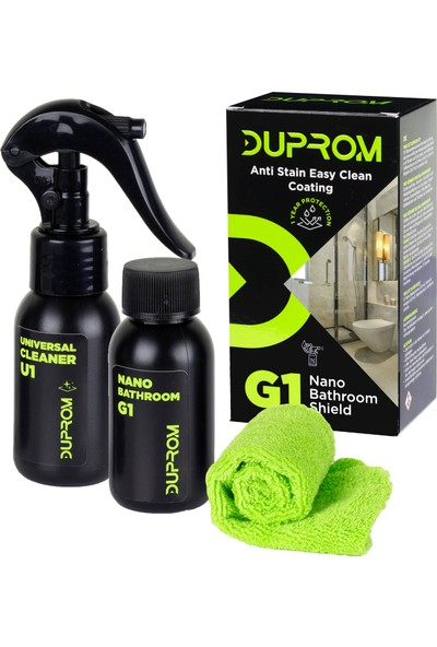 Duprom G1 Nano Bathroom Shield Banyo Duşakabin Leke Önleyici 50 ml
