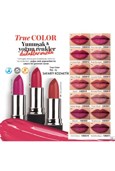 Farmasi True Color Ruj