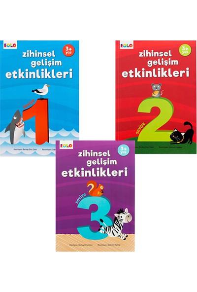 Pedagog Onaylı 3 Yaş Zihinsel Gelişim Seti 3 Kitap