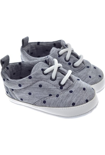 Freesure Gri Erkek Bebek Patik - Ayakkabı