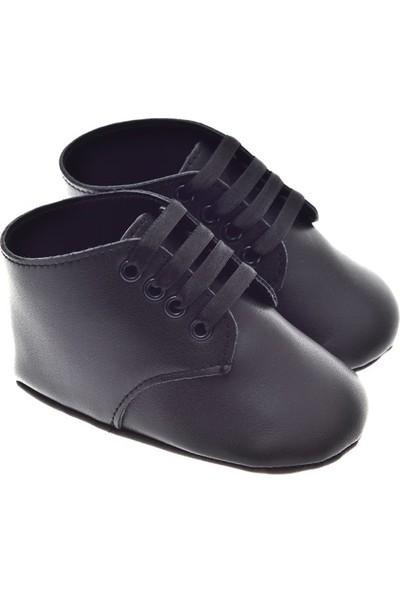 Freesure Erkek Siyah Bebek Patik - Ayakkabısı