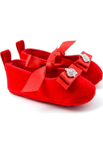 Freesure Kırmızı Kız Bebek Patik - Ayakkabı