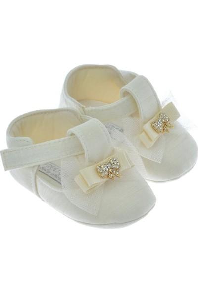Freesure Ekru Kız Bebek Patik - Ayakkabı