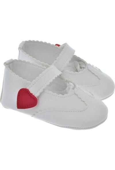 Freesure Beyaz Kız Bebek Patik - Ayakkabı