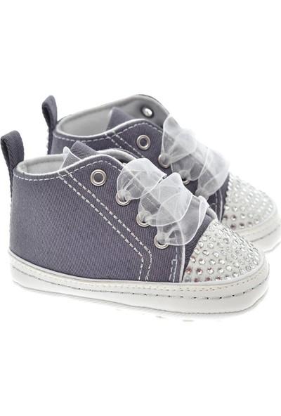 Freesure Füme Kız Bebek Patik - Ayakkabı