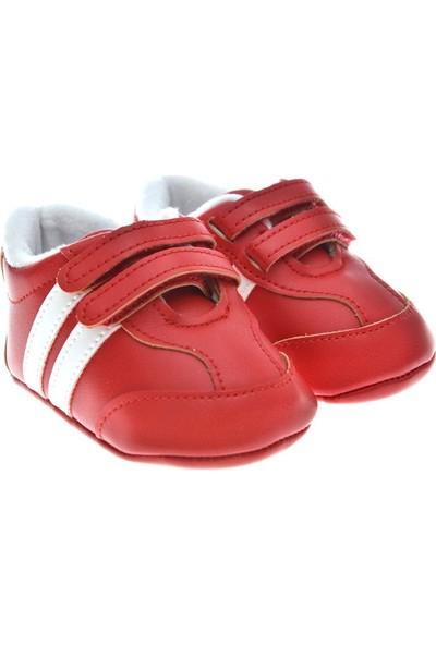 Freesure Kırmızı Erkek Bebek Patik - Ayakkabı