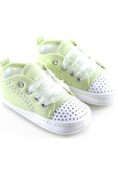 Freesure Yeşil Bebek Patiği, Bebek Ayakkabısı