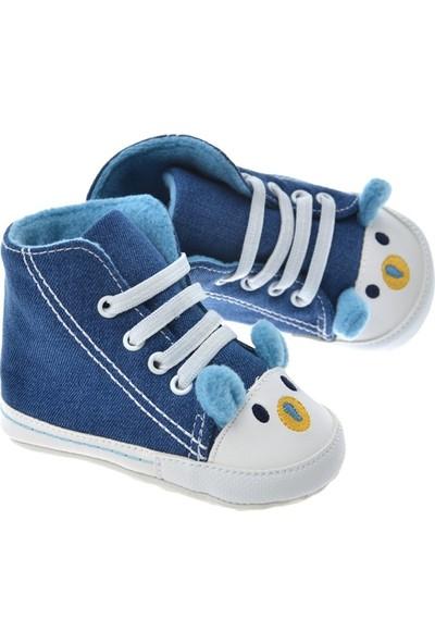 Freesure Koyu Jean Bebek Patiği, Bebek Ayakkabısı