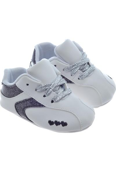 Freesure Gümüş Bebek Patiği, Bebek Ayakkabısı