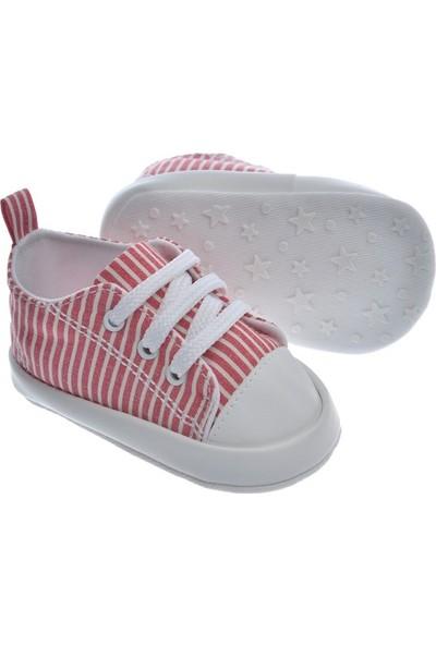 Freesure Kırmızı Bebek Patiği, Bebek Ayakkabısı