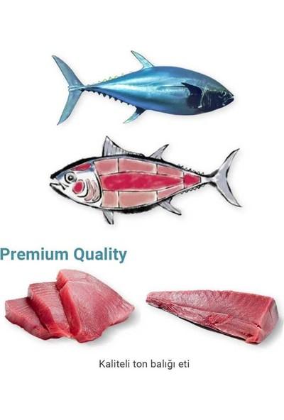 Me-O Tahılsız Tuna Balıklı & Palamut Yaş Kedi Maması 70 gr x 6 Adet