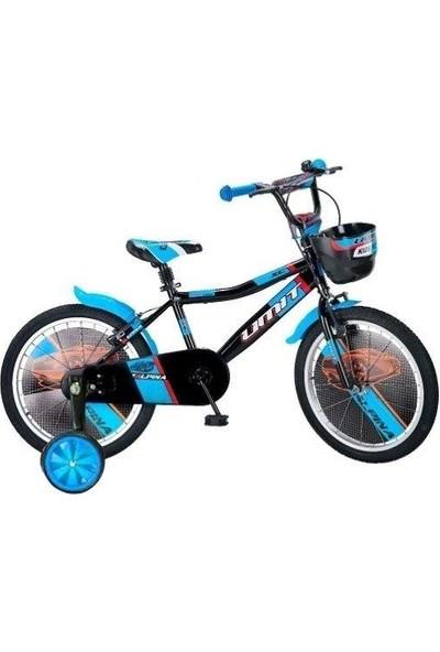 Ümit Bisiklet Ümit 1647 Alpina Çocuk Bisikleti Siyah-Mavi-Turuncu