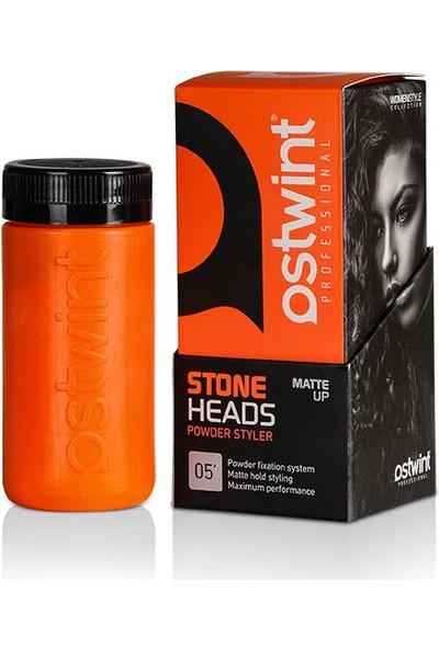 Ostwint Stone Hold Saç Şekillendirici Toz Wax Turuncu 20 ml