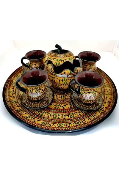 A-Sobe Seramik Rapido Süleme Kahve Takımı