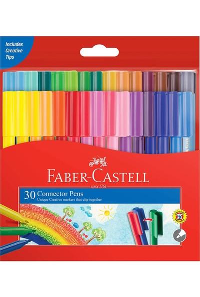 Faber-Castell Eğlenceli Keçeli Kartlı, 30'lu Set