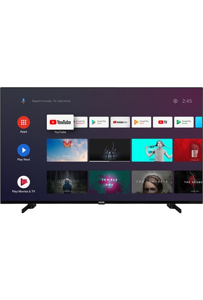Vestel 55UA9600 55'' 139 Ekran Uydu Alıcılı 4K Ultra HD Android Smart LED TV