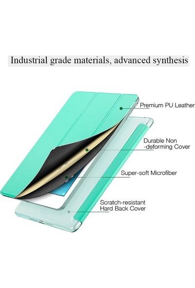 Samsung Galaxy Tab A7 2020 T500 T505 T507 10.4 inç Yatay Standlı Smart Case Tablet Kılıf