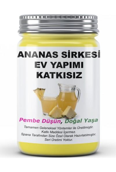 Spana Ananas Sirkesi Ev Yapımı Katkısız 500 ml
