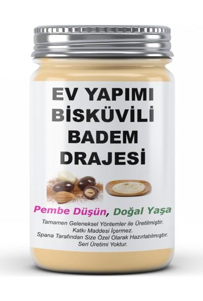 Spana Bisküvili Badem Drajesi Ev Yapımı Katkısız 250 gr